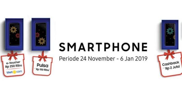 Promo Akhir Tahun Be Together Pembelian Hp Samsung Bertabur Hadiah
