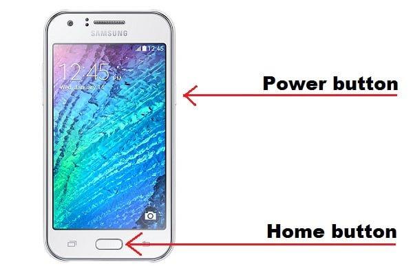 screenshot Samsung j5