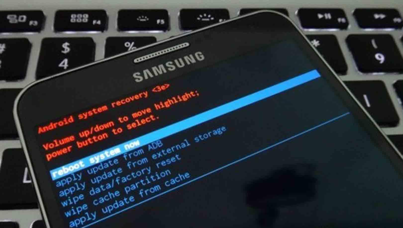 cara hard reset Samsung