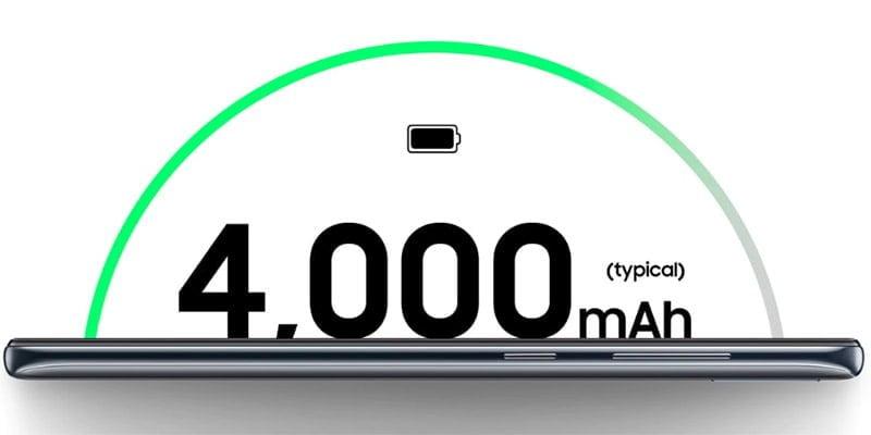 Baterai 4000 mAh
