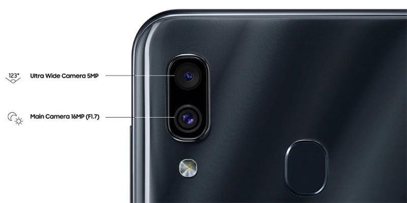 Kamera Utama Samsung Galaxy A30