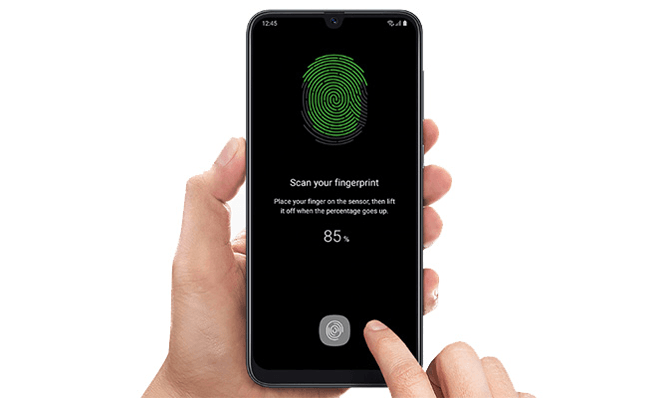 Fingerprint Samsung Galaxy A50