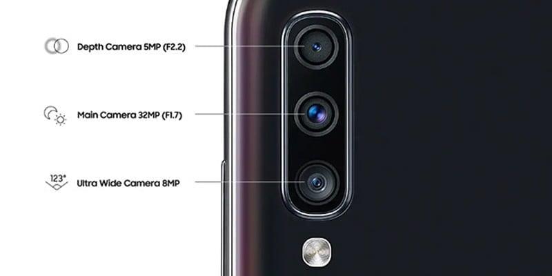 Triple kamera Samsung Galaxy A70