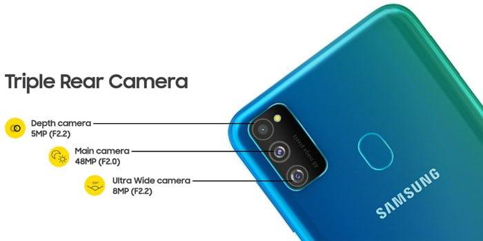 Samsung Galaxy M30s Spek