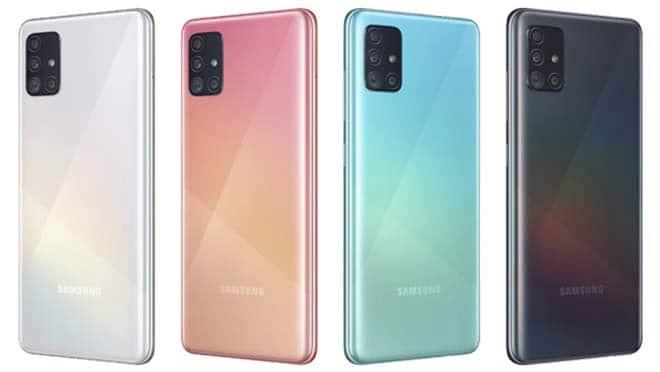 Desain Samsung A51
