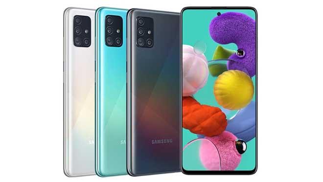 Desain Samsung A71