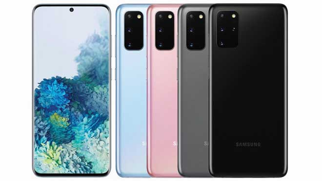 Samsung Galaxy S20 Desain