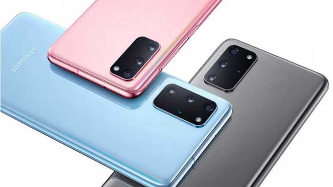 Samsung Galaxy S20 Plus Desain