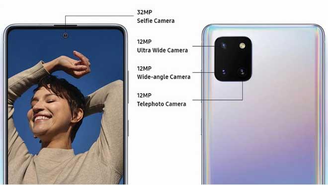 Samsung Note10 Lite Kamera