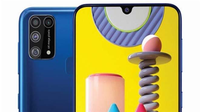 Samsung Galaxy M31 Kamera