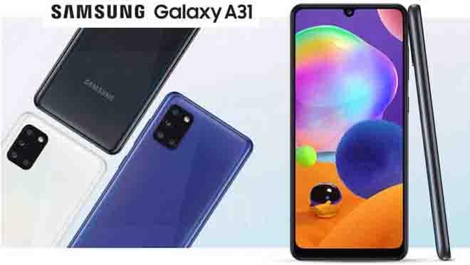 Samsung Galaxy A31 Spek