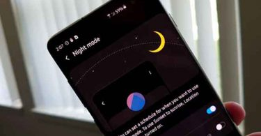 Cara Dark Mode Samsung