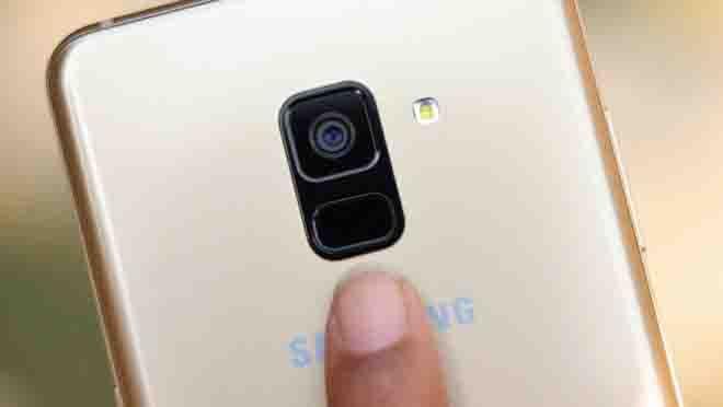 Cara Fingerprint Samsung