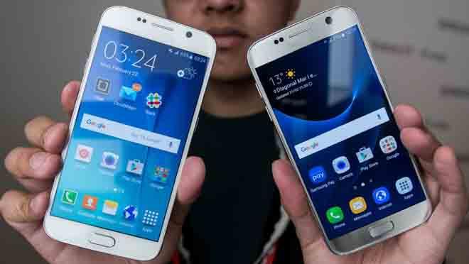 Cek Layar HP Samsung Asli