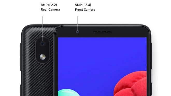Kamera Samsung A01 Core