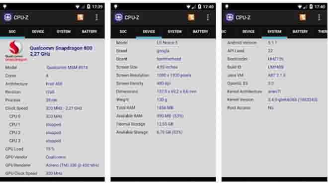 Cek RAM Samsung CPU-Z