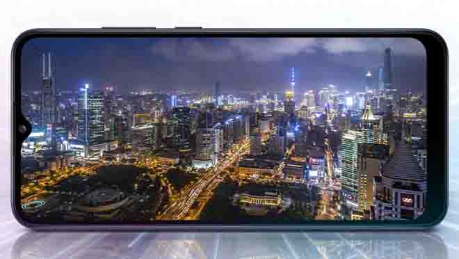 Layar Samsung A02s
