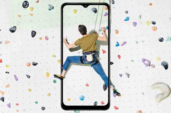 Layar Samsung A12