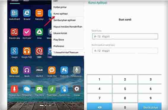 Mengunci Aplikasi di HP Samsung