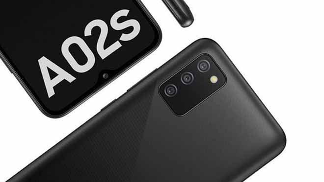 Samsung Galaxy A02s Desain