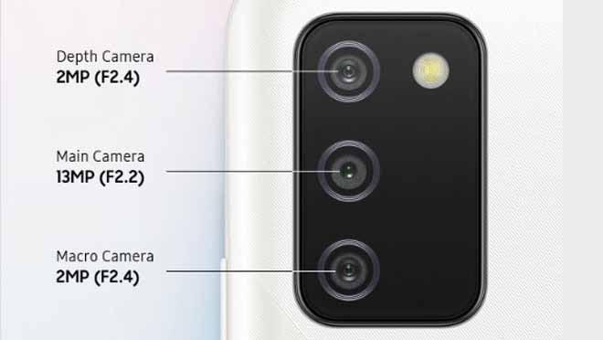 Samsung Galaxy A02s Kamera