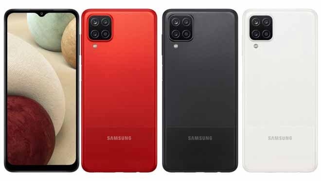 Samsung Galaxy A12 Desain