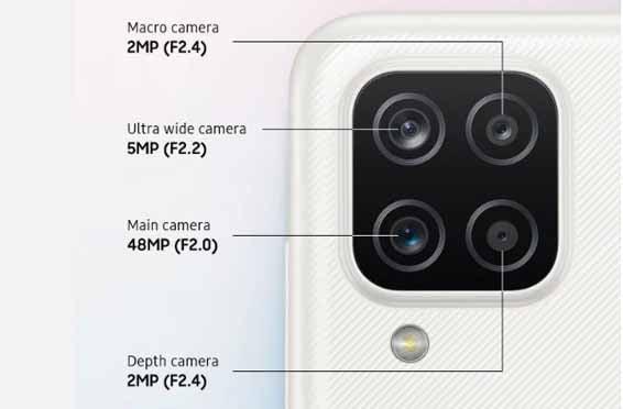 Samsung Galaxy A12 Kamera