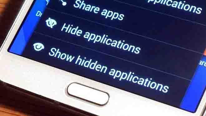Cara Menyembunyikan Aplikasi Samsung