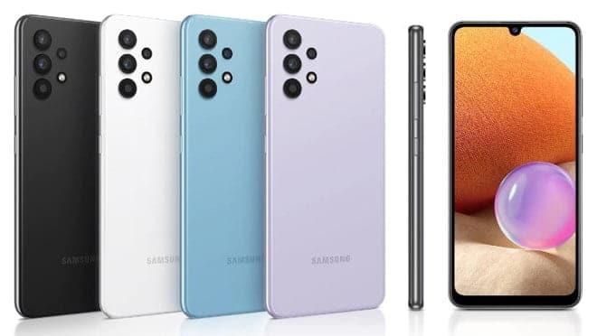 Desain Galaxy A32