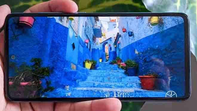 Layar Samsung A52