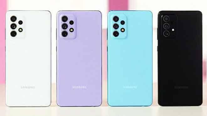Desain Samsung A72